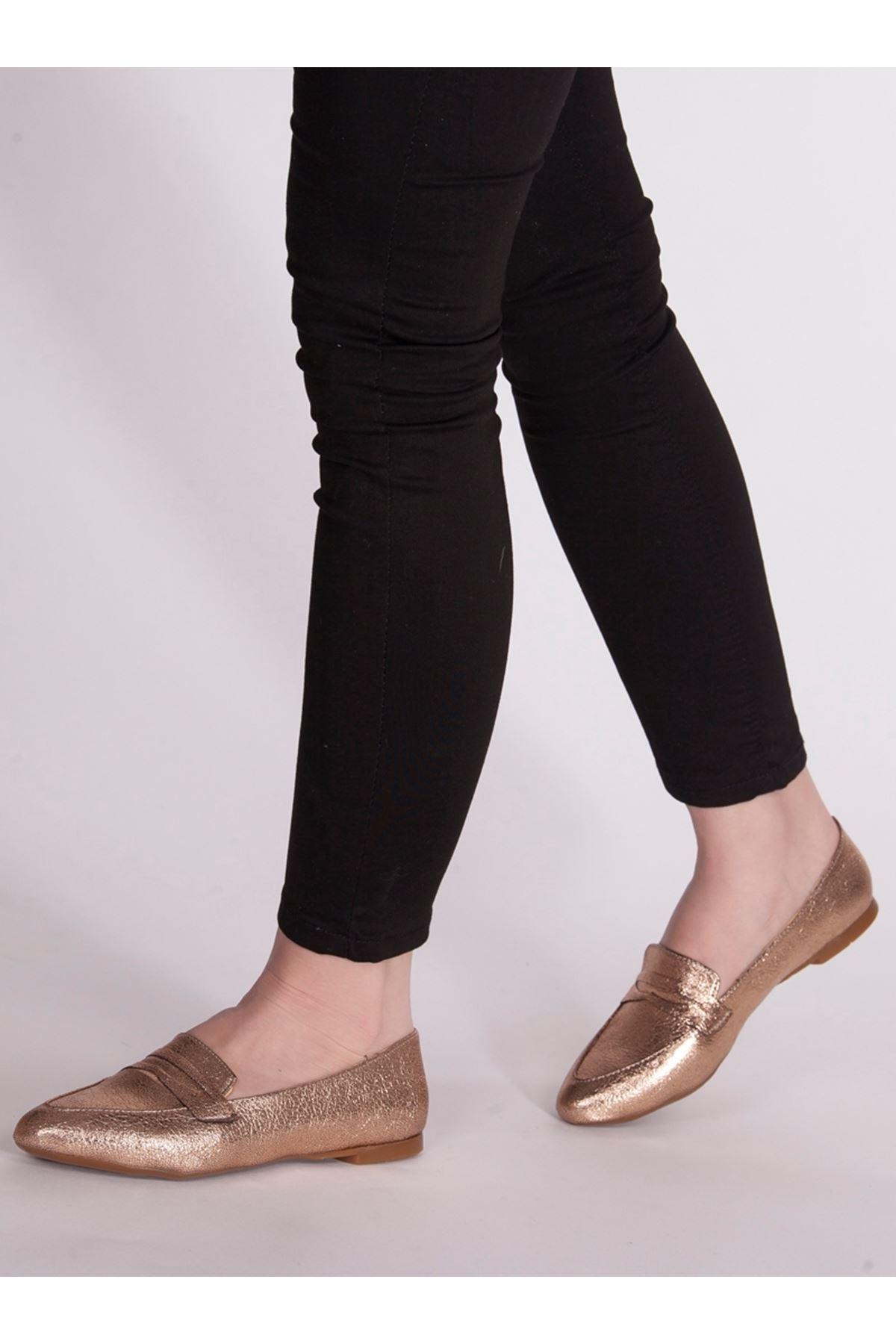 Bella Bakır Rahat Günlük Kadın Ayakkabı