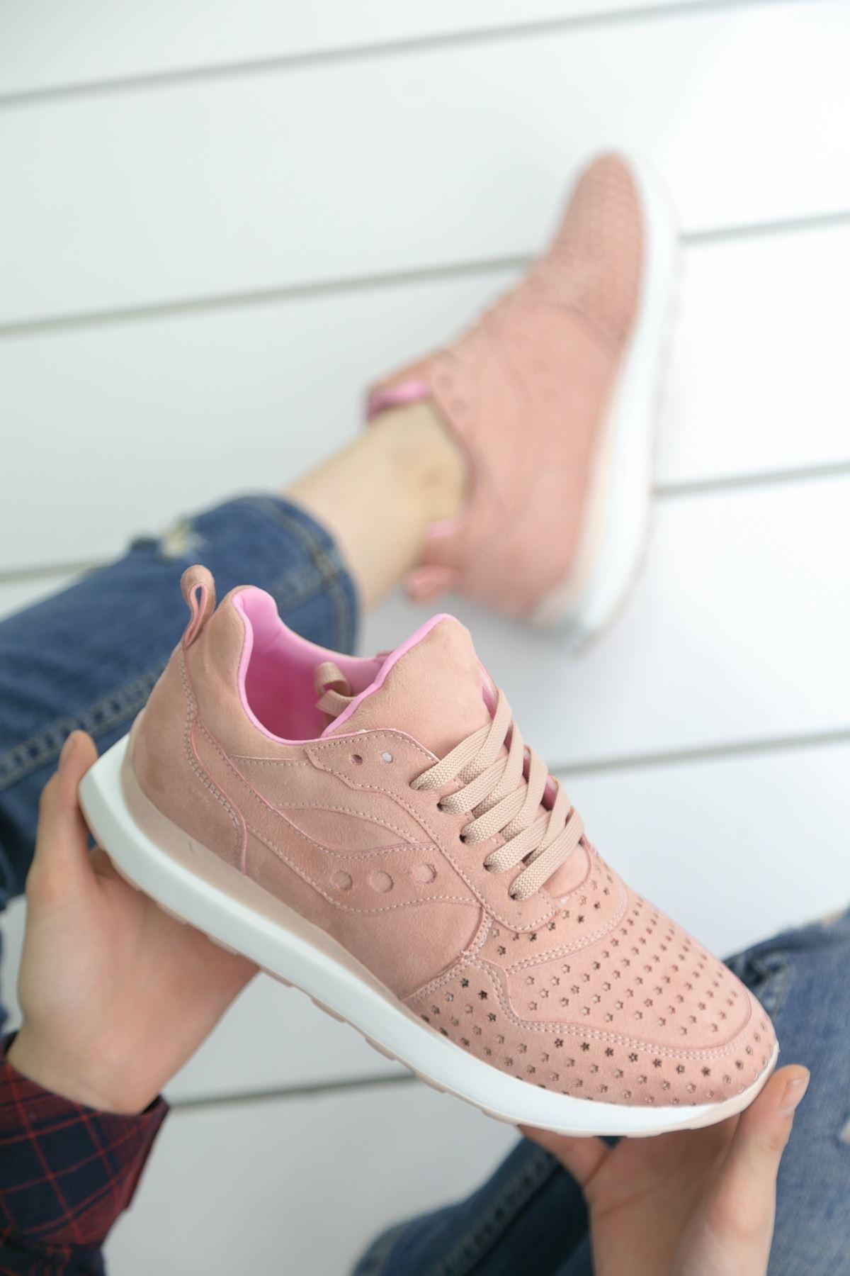 Disa Pudra Ortapedik Bayan Spor Ayakkabı