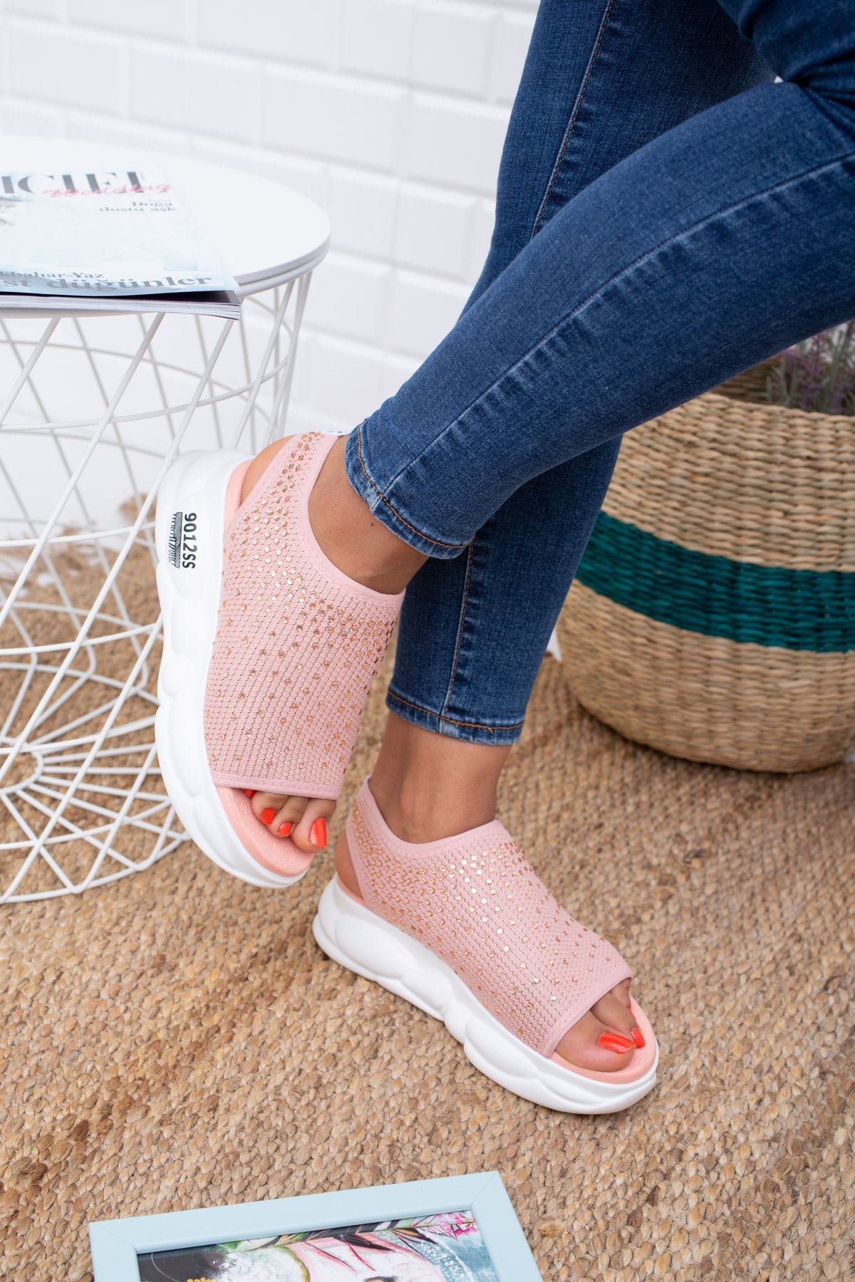 Dido Pudra Triko Bayan Spor Ayakkabı