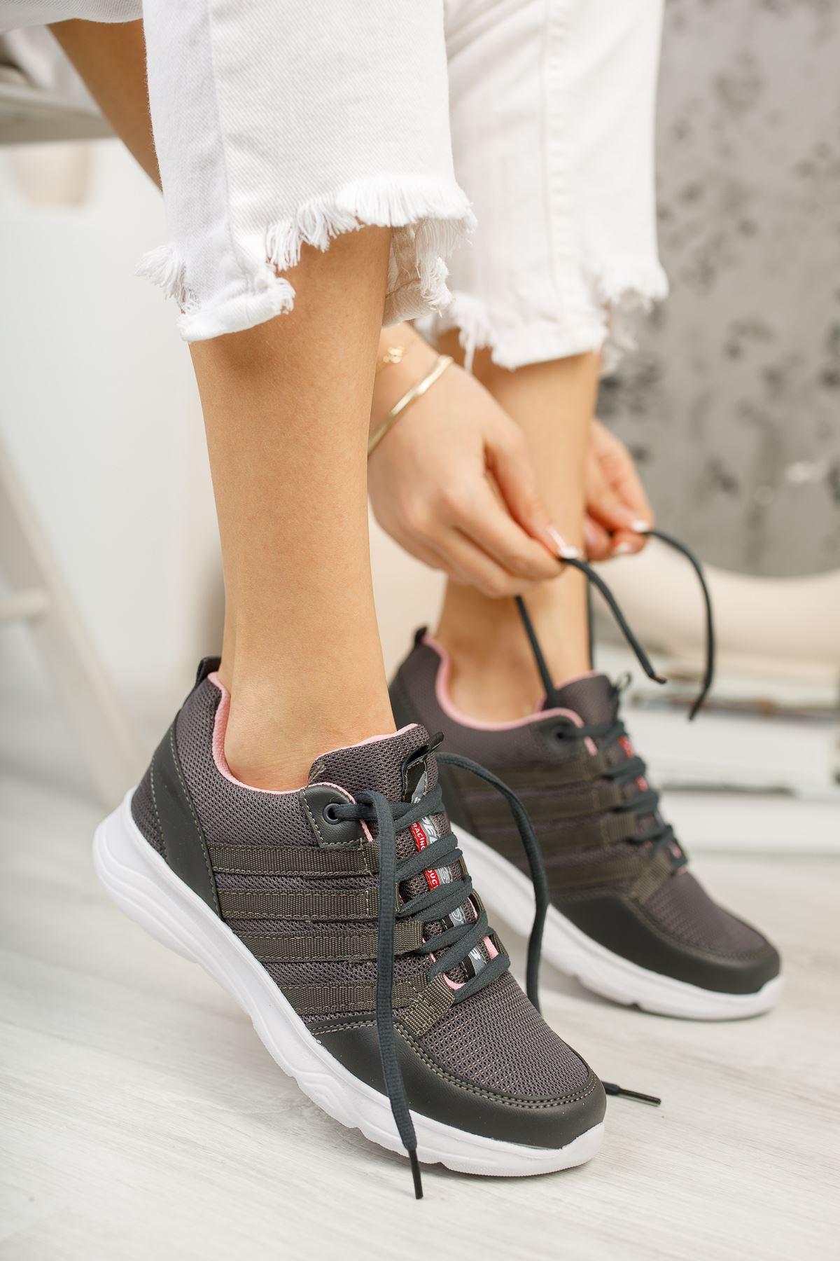 Paşi Füme Kadın Spor Ayakkabı