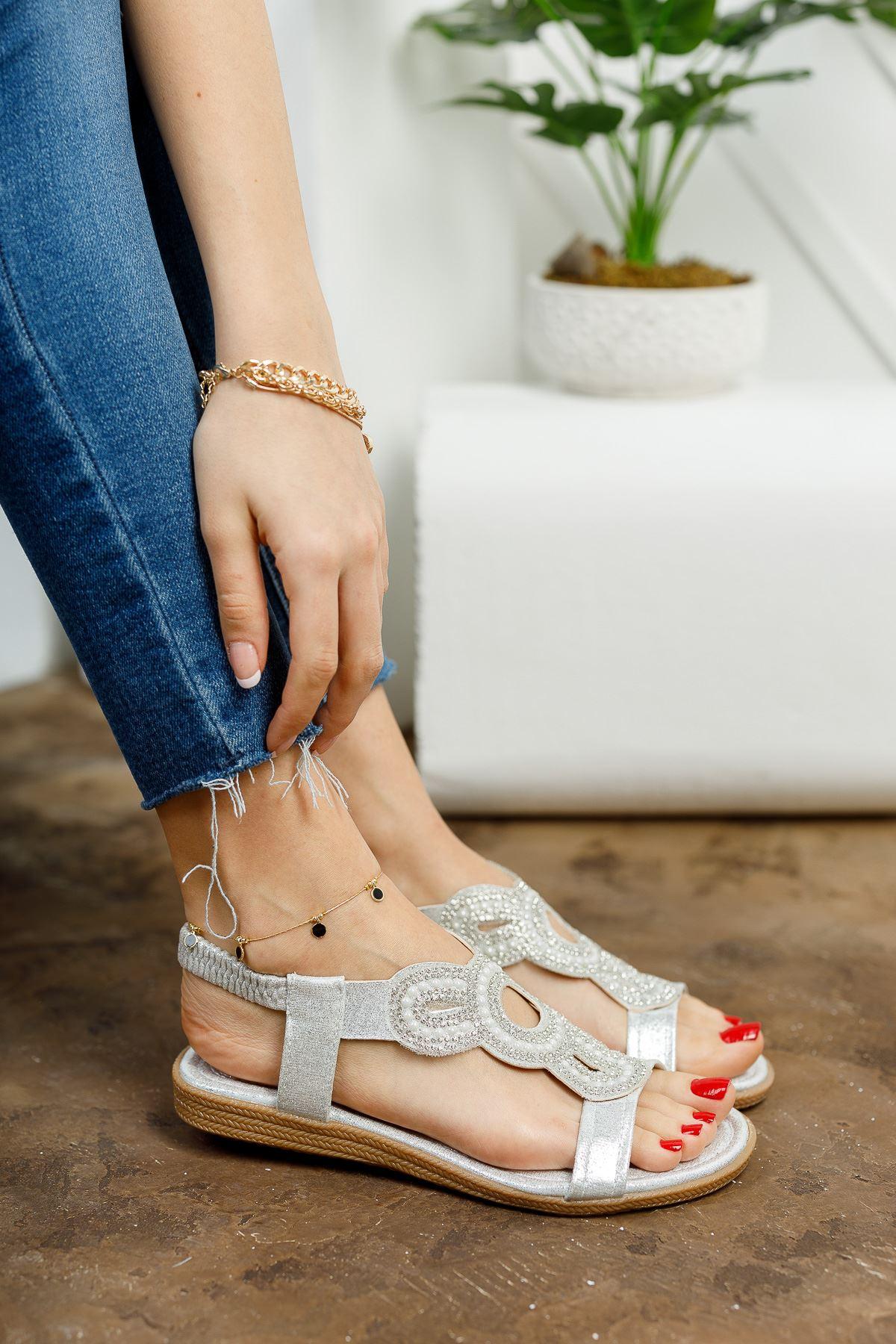 İlon Silver Kadın Sandalet