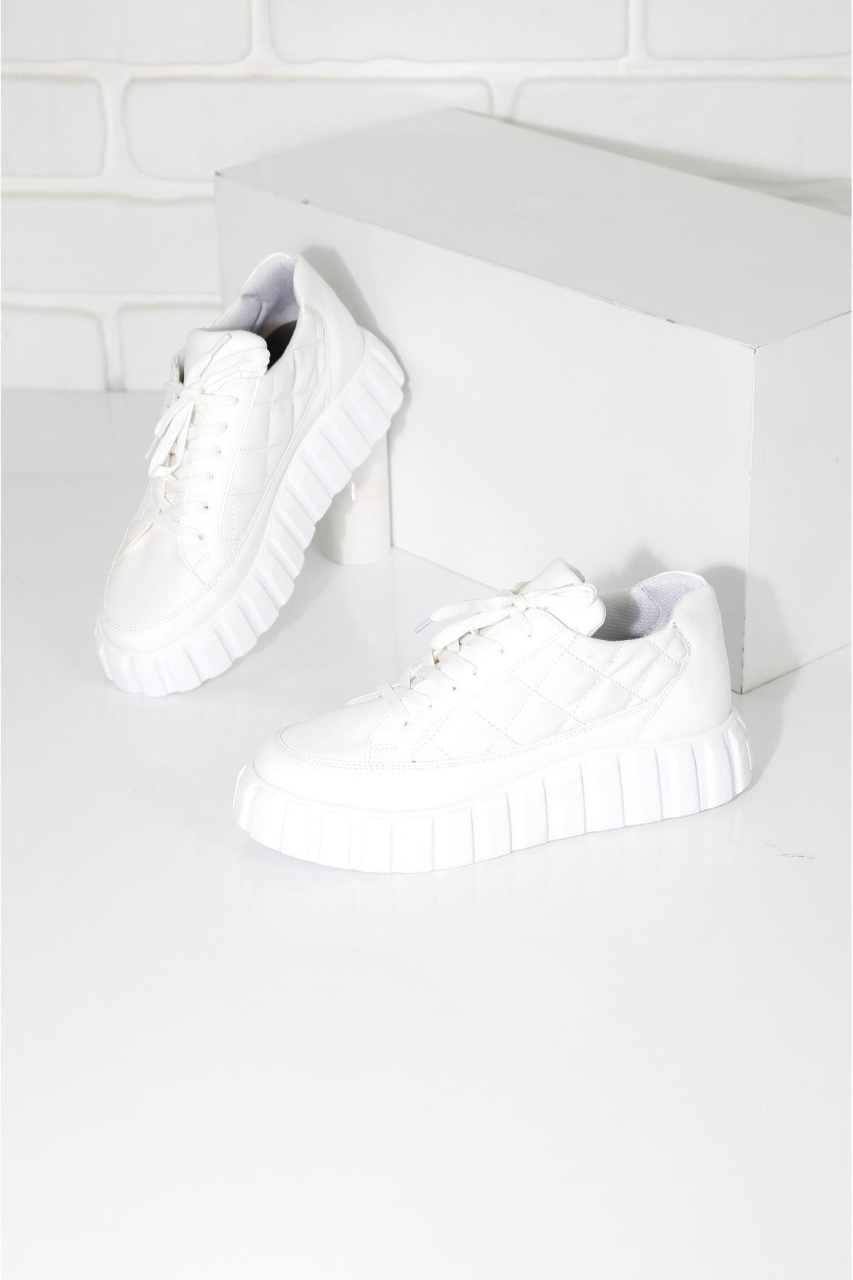Zoey Beyaz Kadın Spor Ayakkabı
