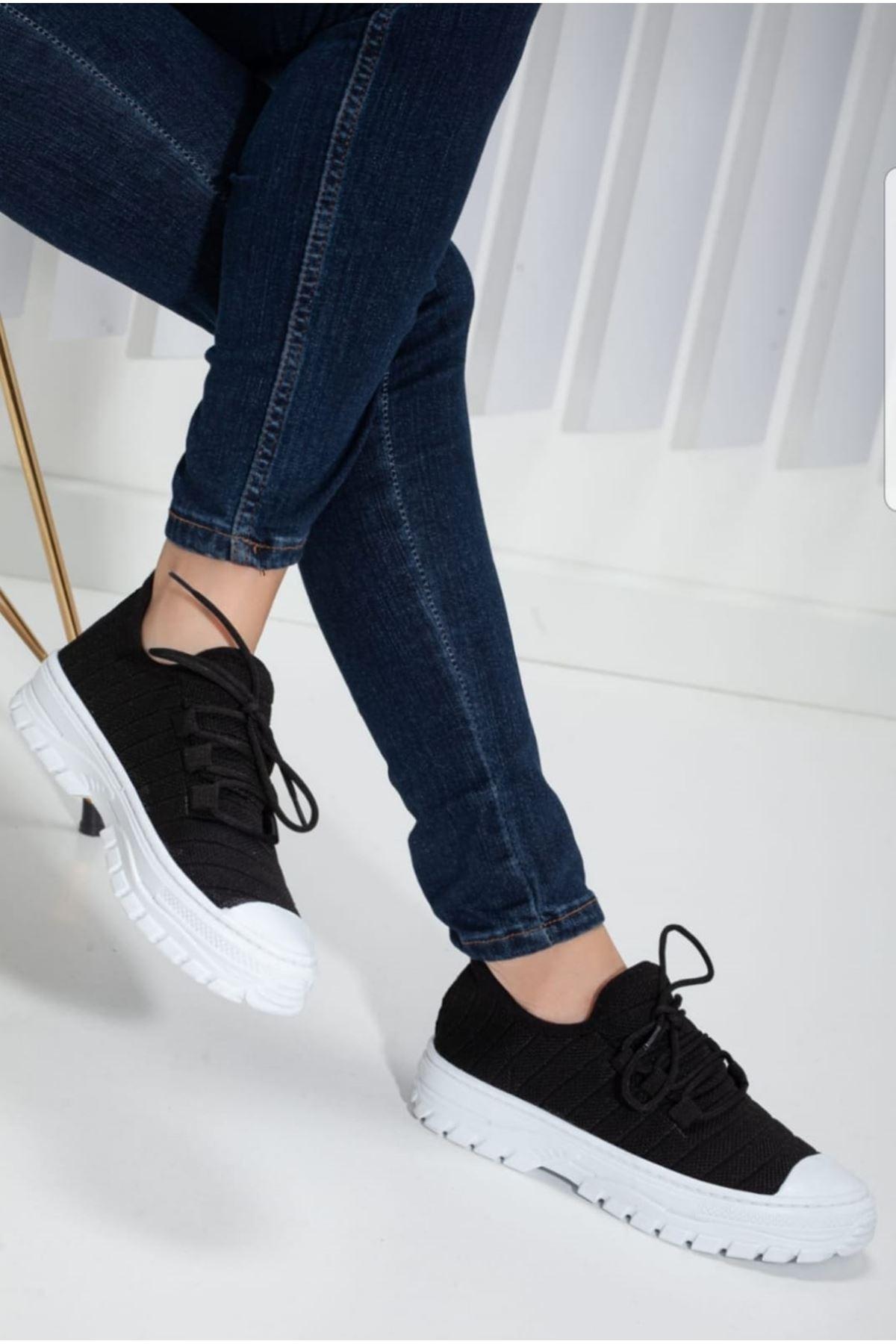 Brook Siyah Günlük Kadın Sneakers
